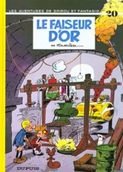 SPIROU AND FANTASIO -  USED BOOK - LE FAISEUR D'OR (FRENCH) 20