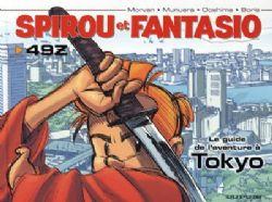 SPIROU AND FANTASIO -  USED BOOK - LE GUIDE DE L'AVENTURE À TOKYO (FRENCH)