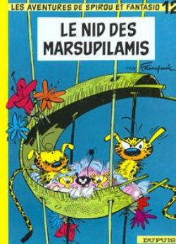 SPIROU AND FANTASIO -  USED BOOK - LE NID DES MARSUPILAMIS (FRENCH) 12