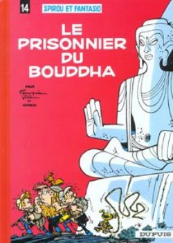 SPIROU AND FANTASIO -  USED BOOK - LE PRISONNIER DU BOUDDHA (FRENCH) 14