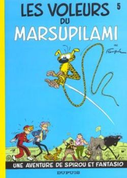 SPIROU AND FANTASIO -  USED BOOK - LES VOLEURS DU MARSUPILAMI (FRENCH) 05
