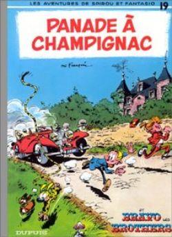 SPIROU AND FANTASIO -  USED BOOK - PANADE À CHAMPIGNAC (FRENCH) 19