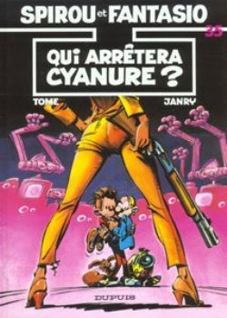 SPIROU AND FANTASIO -  USED BOOK - QUI ARRETERA CYANURE? (FRENCH) 35
