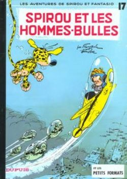 SPIROU AND FANTASIO -  USED BOOK - SPIROU ET LES HOMMES-BULLES (FRENCH) 17