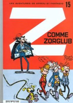 SPIROU AND FANTASIO -  USED BOOK - Z COMME ZORGLUB (FRENCH) 15