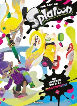 SPLATOON -  THE ART OF SPLATOON (V.F.)