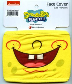 SPONGE BOB SQUAREPANTS -  FACE MASK