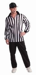 SPORT -  REFEREE COSTUME (ADULT - ONE SIZE 40-42)