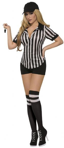 SPORT -  SEXY REFEREE SHIRT (ADULT - ONE SIZE)