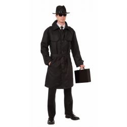 SPY -  SECRET AGENT TRENCH COAT (ADUILT - ONE SIZE)