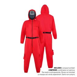 SQUID GAME -  RED GUARD COSTUME (ADULT)