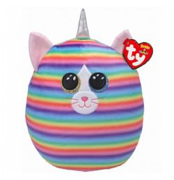 SQUISH A BOOS -  HEATHER THE UNICORN CAT (12