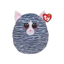 SQUISH A BOOS -  KIKI THE GREY STRIPED CAT (8