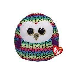 SQUISH A BOOS -  OWEN THE RAINBOW OWL (8