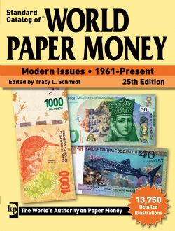 STANDARD CATALOG OF -  MODERN ISSUES - 1961-PRESENT (25TH EDITION) -  WORLD PAPER MONEY 03