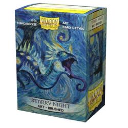 STANDARD SIZE SLEEVES -  DRAGON SHIELDS - 100 - STARRY NIGHT