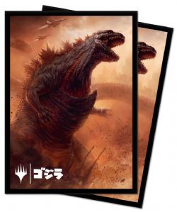 STANDARD SIZE SLEEVES -  MTG - 100 - IKORIA : LAIR OF THE BEHEMOT - GODZILLA DOOM INEVITABLE