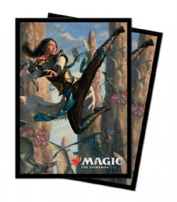 STANDARD SIZE SLEEVES -  MTG - 100 - IKORIA - LAIR OF THE BEHEMOTHS - NARSET OF THE ANCIENT WAY
