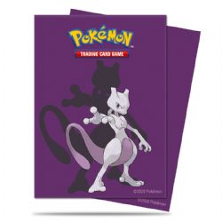 STANDARD SIZE SLEEVES -  POKEMON - 65 - MEWTWO