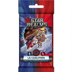 STAR REALMS -  LA COALITION (FRENCH) -  DECK DE COMMANDEMENT