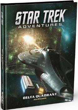 STAR TREK ADVENTURES -  DELTA QUADRANT - SOURCEBOOK (ENGLISH)