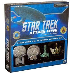 STAR TREK : ATTACK WING -  FEDERATION VS. KLINGONS STARTER SET
