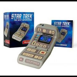 STAR TREK -  LIGHT-AND-SOUND TRICORDER -  MINI-KIT
