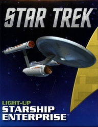 STAR TREK -  LIGHT-UP STARSHIP ENTERPRISE KIT -  MINI-KIT