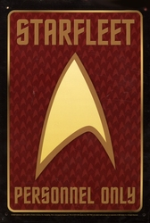 STAR TREK -  METAL POSTER