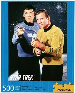 STAR TREK -  SPOCK & CAPTAIN KIRK (500 PIECES)