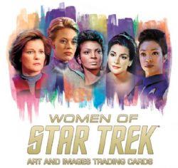 STAR TREK -  THE WOMEN OF STAR TREK 50TH ANNIVERSARY TRADING CARDS BOX