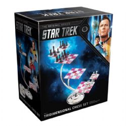STAR TREK -  TRIDIMENSIONAL CHESS SET - PROP REPLICA