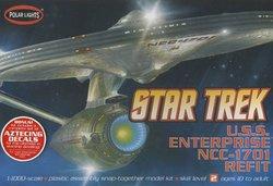 STAR TREK -  U.S.S. ENTERPRISE NCC-1701 REFIT 1/1000 (MODERATE)