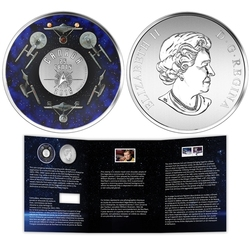 STAR TREK(TM) -  ENTERPRISE - COIN AND STAMP SET -  2016 CANADIAN COINS