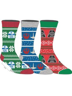 STAR WARS -  3 PAIRS CHRISTMAS SOCK