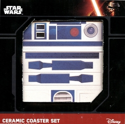 STAR WARS -  4 CERAMIC COASTER SET