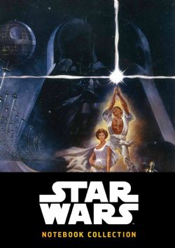 STAR WARS -  40 YEARS OF STAR WARS - NOTEBOOK COLLECTION (ENGLISH)