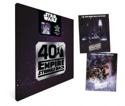 STAR WARS 40TH ANNIVERSARY -  2021 CALENDAR WITH 2 BONUS POSTERS (8X10) (12 MONTHS) -  THE EMPIRE STRIKES BACK