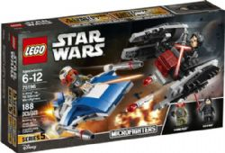 STAR WARS -  A-WING VS TIE SILENCER MICROFIGHTERS (188 PIECES) 5 -  MICROFIGHTERS 75196