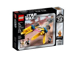 STAR WARS -  ANAKIN'S PODRACER (279 PIECES) -  20TH ANNIVERSARY 75258