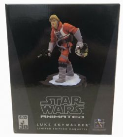 STAR WARS -  ANIMATED LUKE SKYWALKER LIMITED EDITION MAQUETTE (2628/4500) - USED BOX