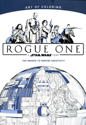 STAR WARS -  ART OF COLORING STAR WARS ROGUE ONE TP