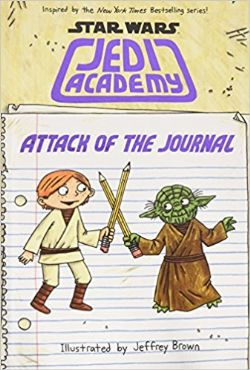 STAR WARS -  ATTACK OF THE JOURNAL -  JEDI ACADEMY