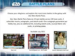 STAR WARS -  BATTLE PLANS 2021 (P8/B24/C12)