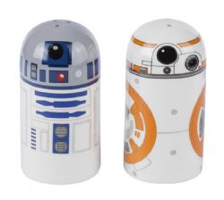 STAR WARS -  BB-8 AND R2-D2 SALT AND PEPPER SET