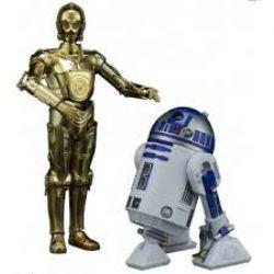STAR WARS -  C-3PO & R2-D2 MODEL KIT (6INCH)