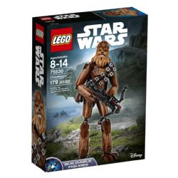 STAR WARS -  CHEWBACCA (179 PIECES) -  BUILDABLE FIGURES 75530