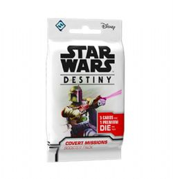 STAR WARS -  COVERT MISSIONS BOOSTER PACK (ENGLISH) -  STAR WARS DESTINY