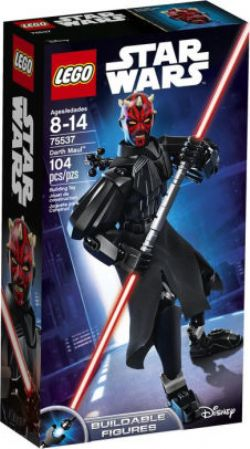 STAR WARS -  DARTH MAUL (104 PIECES) -  BUILDABLE FIGURES 75537