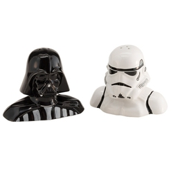 STAR WARS -  DARTH VADER AND STORMTROOPER SALT AND PEPPER SET